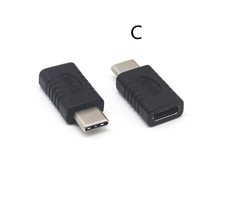 Mini Portable USB 3.1 Type C Male to Female Converter USB-C Adapter For Samsung Huawei Smart Phone C