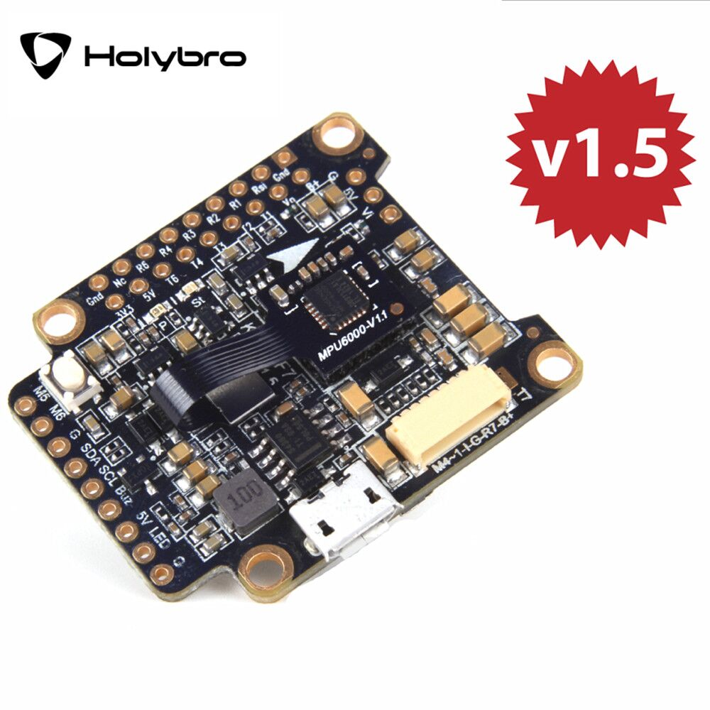 Holybro Kakute F7 AIO V1.5 STM32F745 Flight Controller w/ OSD PDB Current Sensor Barometer for RC Drone Kakute F7