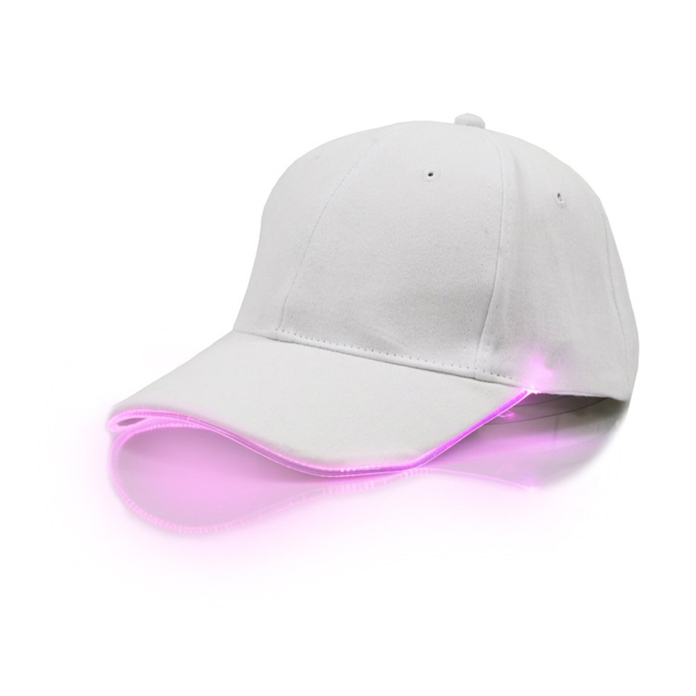 Unisex USB Charging Bright Baseball Cap