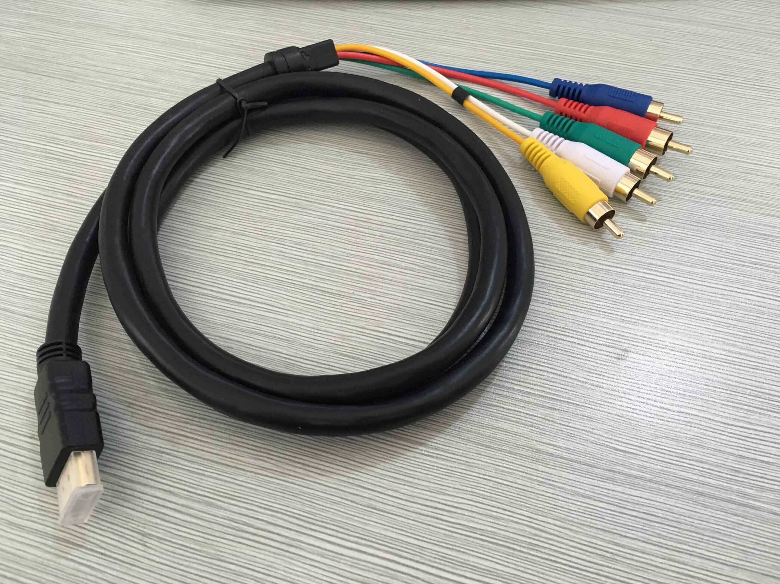 EastVita® 538581 HDMI to 5 RCA Cable, 5-Feet
