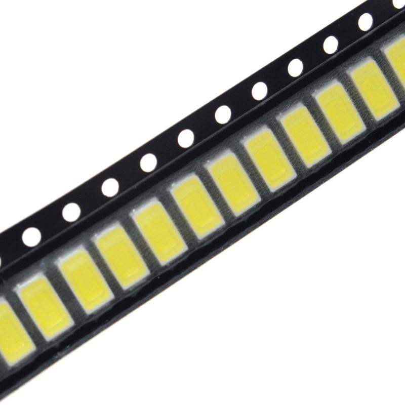 100 Pcs 5730 5W-150Ma 50-55lm 6500K White Light SMD 5730 LED 5730 Diodes  100 pcs warm white