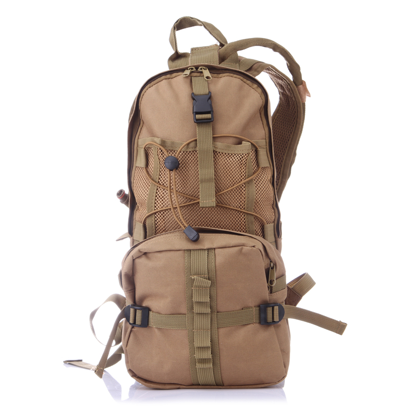 Hydration Pack Backpacks with 2.5L Bladder for Hiking, Biking, Running  Black