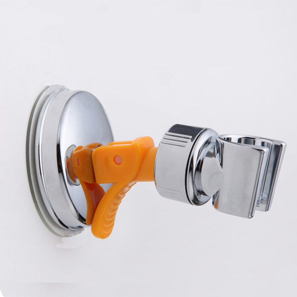 360 Degree Adjustable Sucking Disk Type Shower Head Holder Shower Nozzle Fixing Stand  5027
