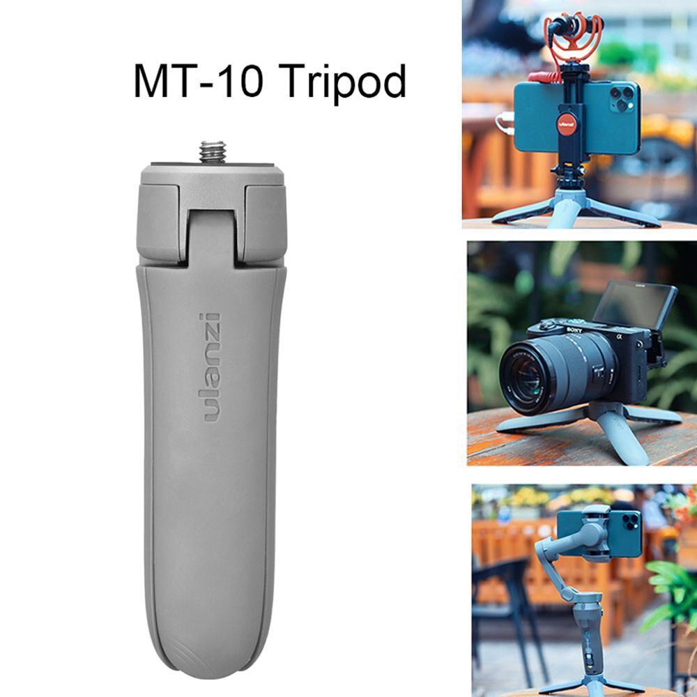 MT-10 Desktop Tripod Plastic Mini Portable for Camera Mobile Phone black