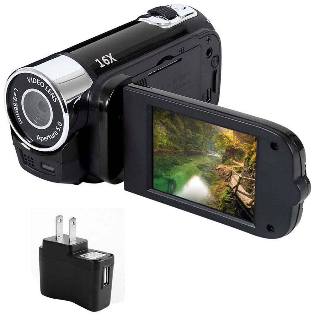 1080P HD Night Vision Anti-shake Wifi DVR Professional Video Record Digital Camera Camcorder  black_US plug
