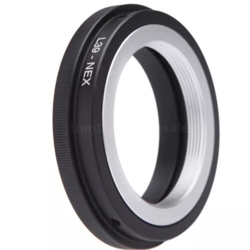 L39 NEX Camera Lens Adapter Ring L39 M39 LTM Lens Mount For Sony NEX3 NEX5 Converter L39 NEX Screw black
