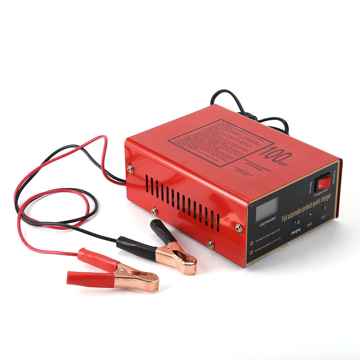 Maintenance-free Battery  Charger 12v/24v 10a 140w Output For Electric Car EU Plug