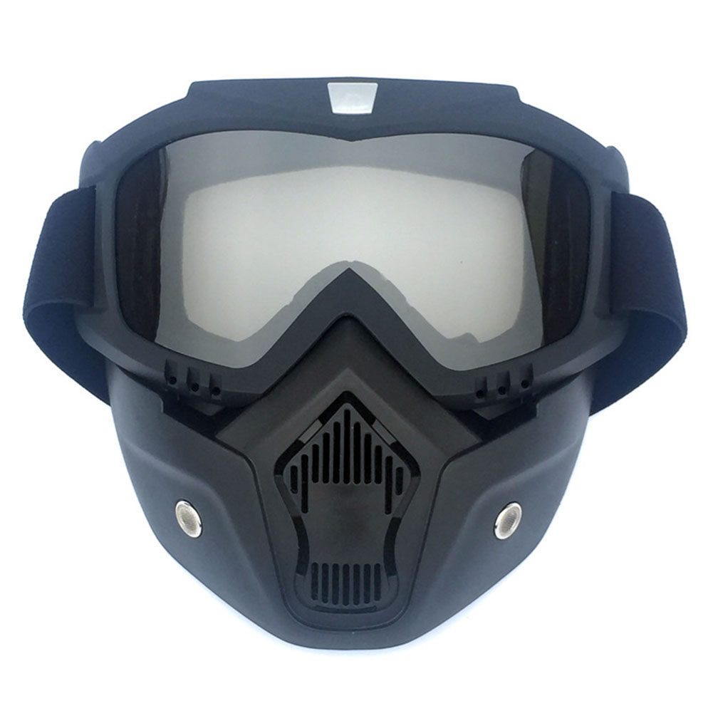 Outdoor Skiing Full Face Mask Glasses