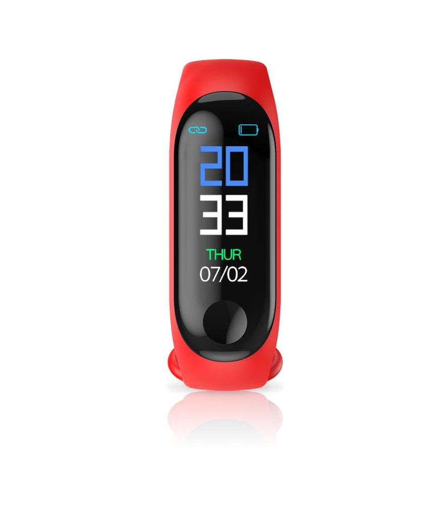 M3 Color Screen Sports Wristwatch red