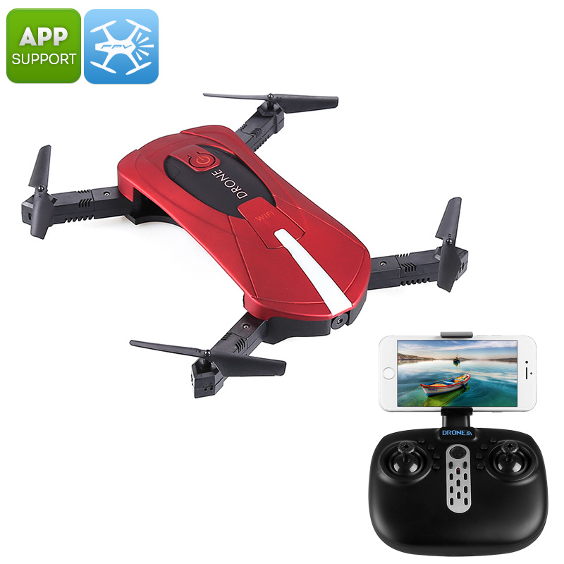 JY018 Folding Drone (Red)
