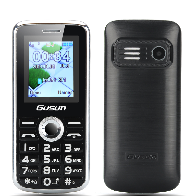 GUSUN F7 Senior Citizen Phone (Black)
