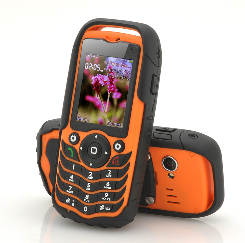 4 Band Rugged Mobile Phone - Fortis (O)