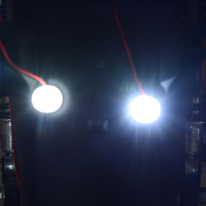 Motorcycle Modification Parts General Electric Vehicle Decorative Lantern Super Bright Led Brake  Tail  Light White Flash