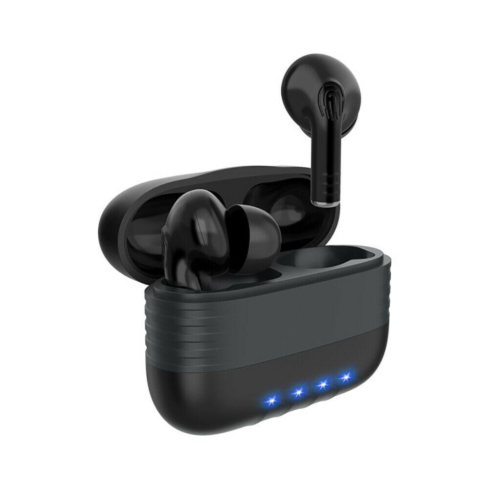 Bluetooth Earbuds 5.0 Wireless Earphone M30 TWS WaterProof Noise Reduction black