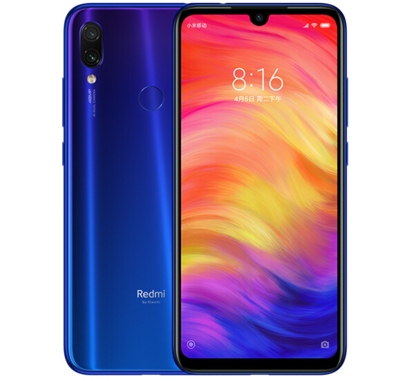 Redmi Note 7 4+64G 2019 Hot Sale Blue