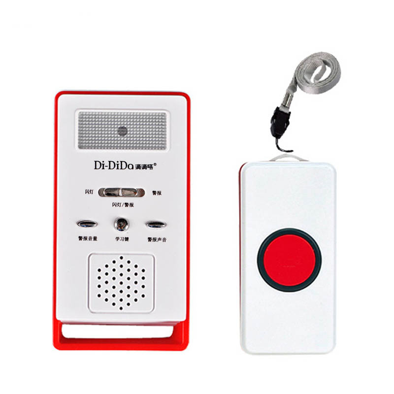 Wireless  Sos  Emergency  Dialer  Alarm  System  Kits Elderly Pager Home Safety Bell Home Care Love Pager as picture show