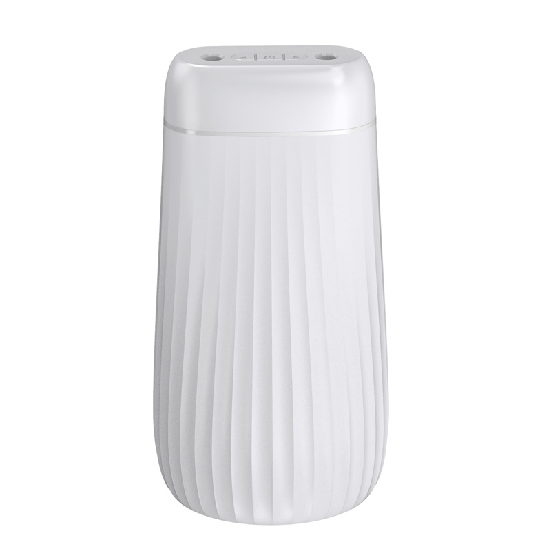 1000ml Mist Humidifier Double Nozzle Silence Home Air Diffuser with Light white