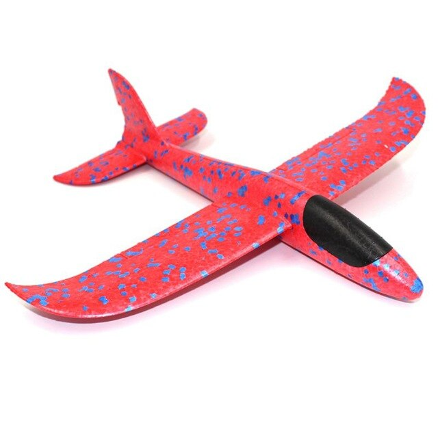 HOT SALE 1Pcs EPP Foam Hand Throw Airplane Outdoor Launch Glider Plane Kids Gift Toy 34.5*32*7.8cm Interesting Toys