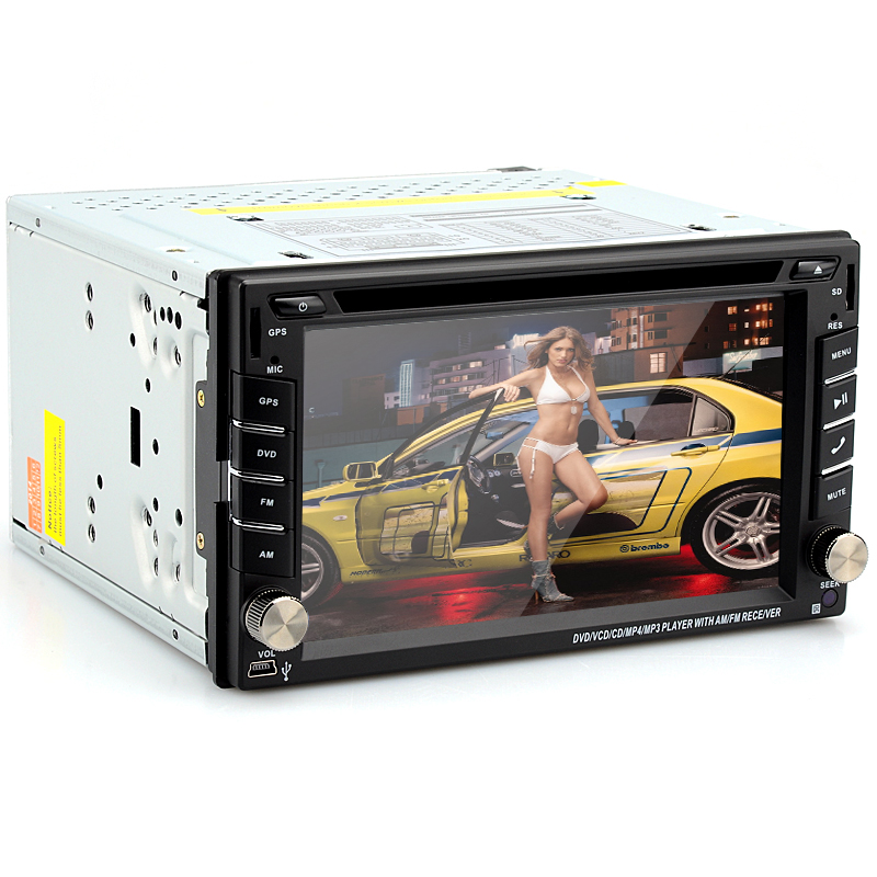 2 DIN 6.2 Inch Universal Car DVD Player
