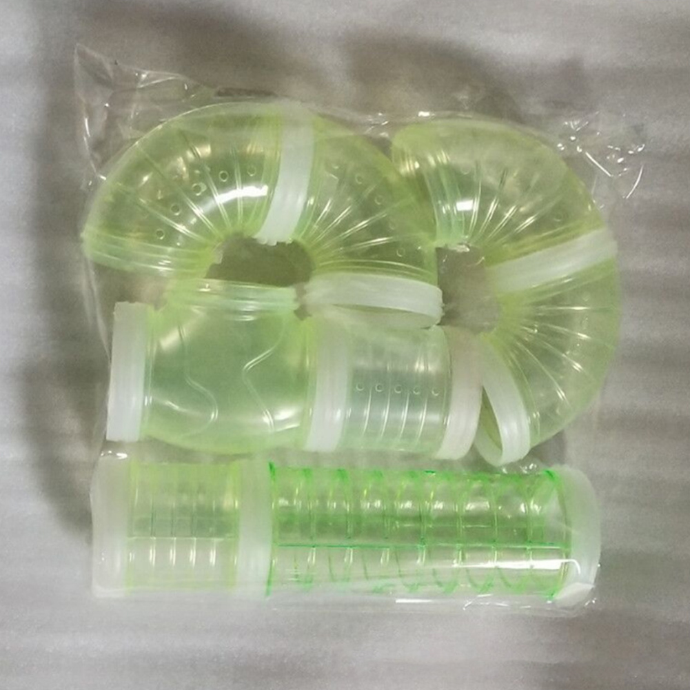 External Connection Tunnel Track Tube Toy for Hamster Sports green_Caliber 5.5