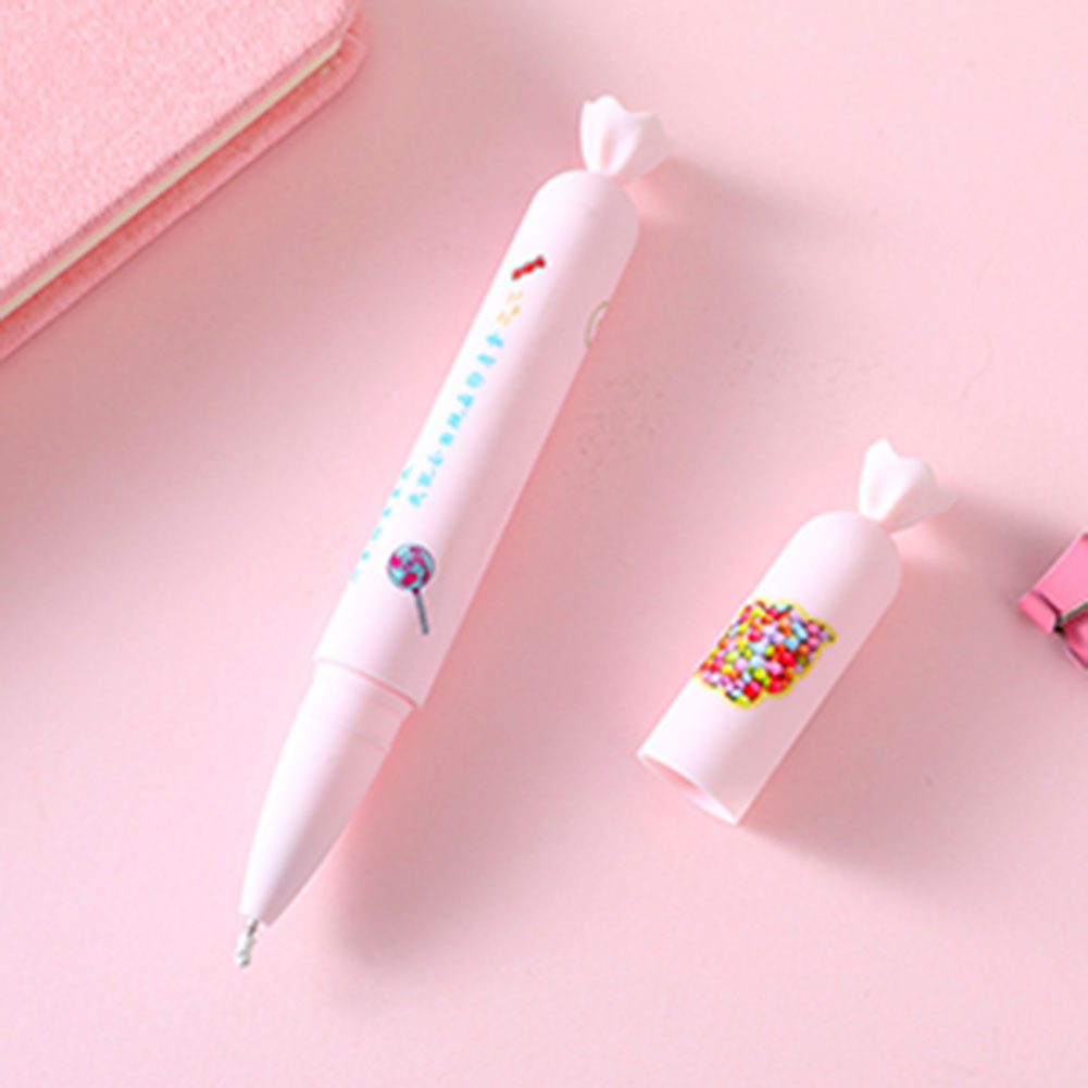 Cute Candy Colors Sausage Modeling Gel  Pen Girl Kawaii Student School Stationery 0.5mm