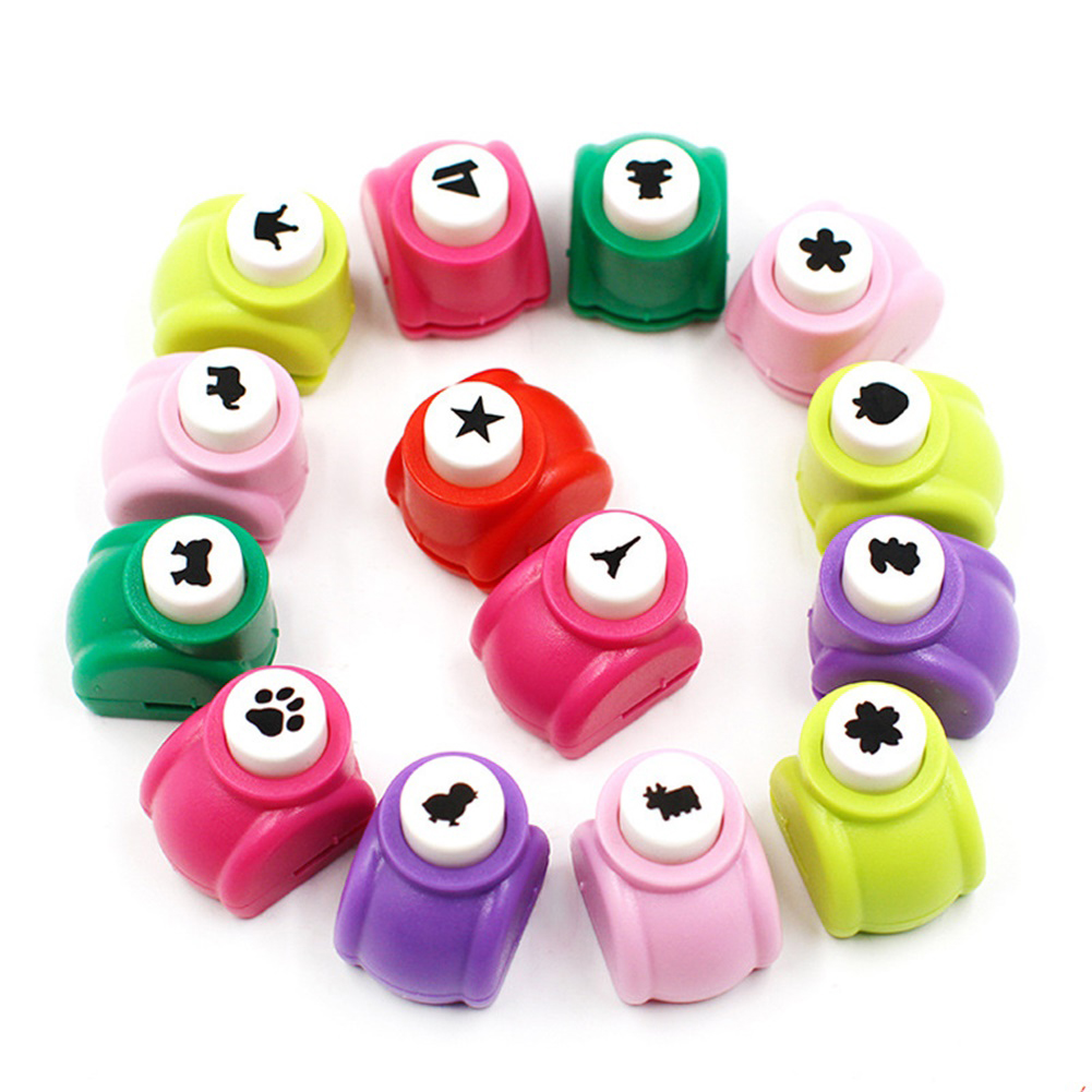 Mini Scrapbook Punches Handmade Cutter Card Craft Calico Printing Diy Flower Paper Craft Punch Hole Puncher Small_3.2cm*3cm*2.5cm