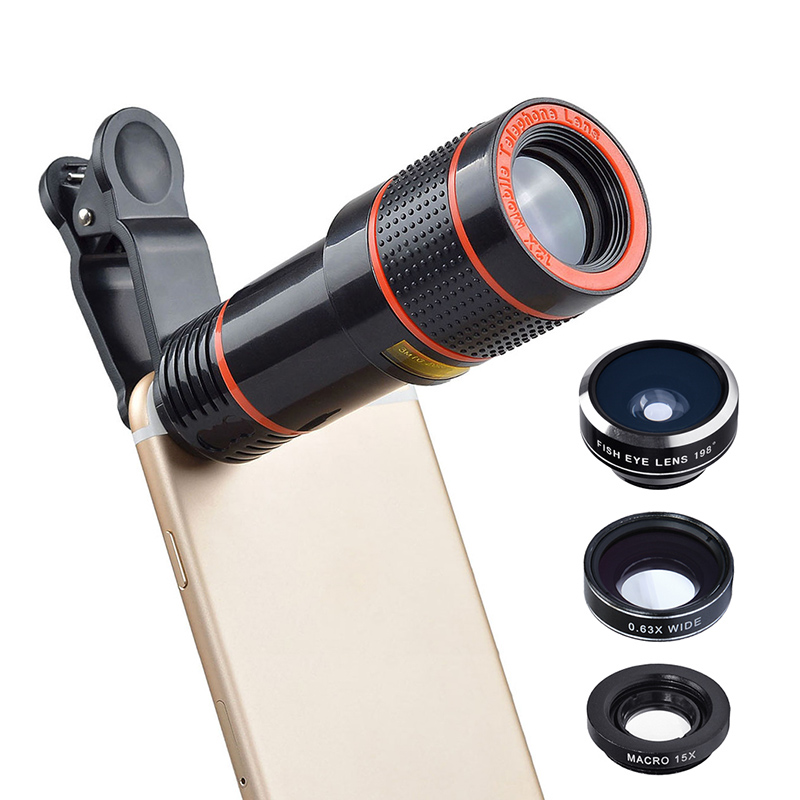 4 In 1 Smartphone Camera Lens Kit