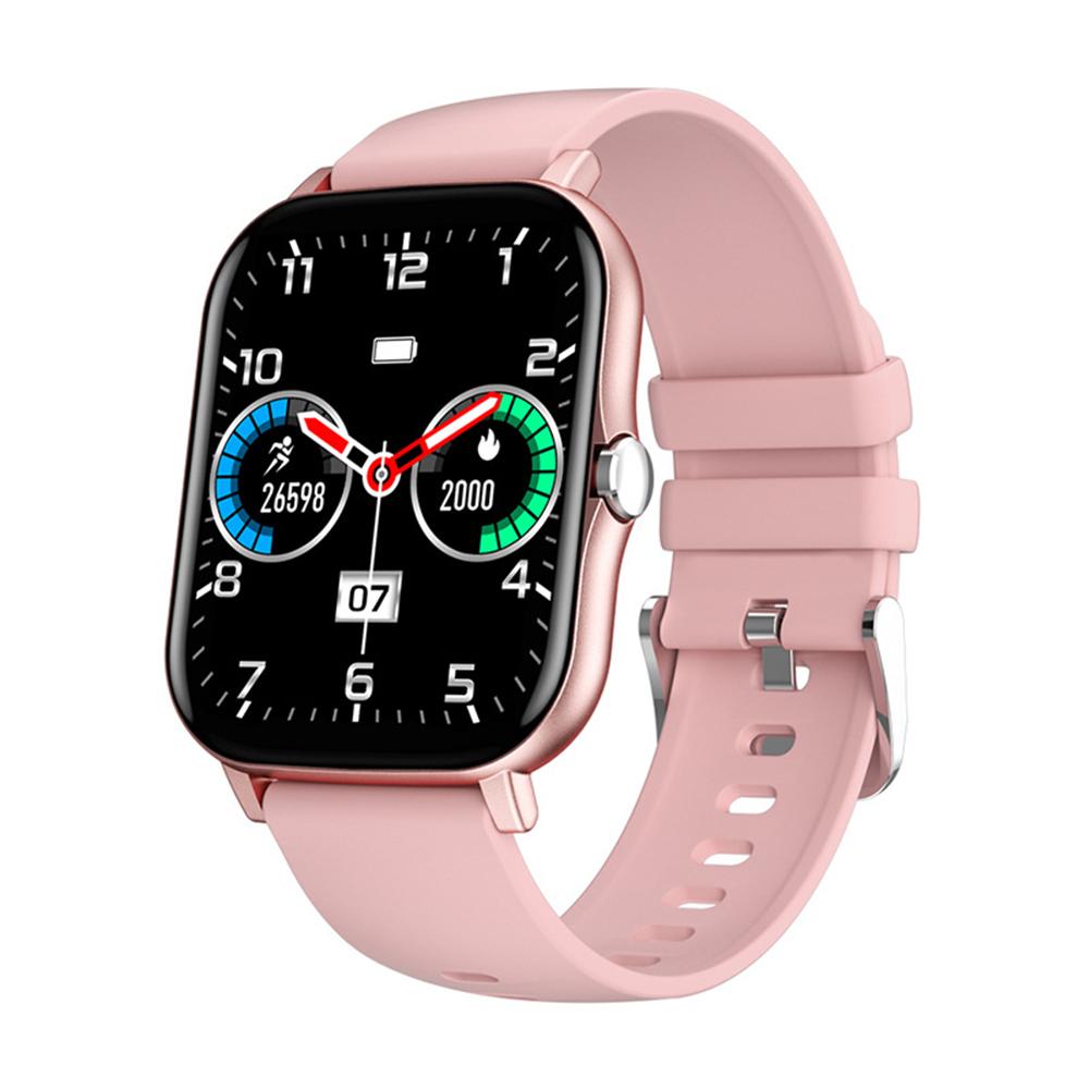 K48 Smart Watch Bluetooth Fitness-tracker Blood Heart Rate Tracker Ip67 Waterproof Smart Watch Pink