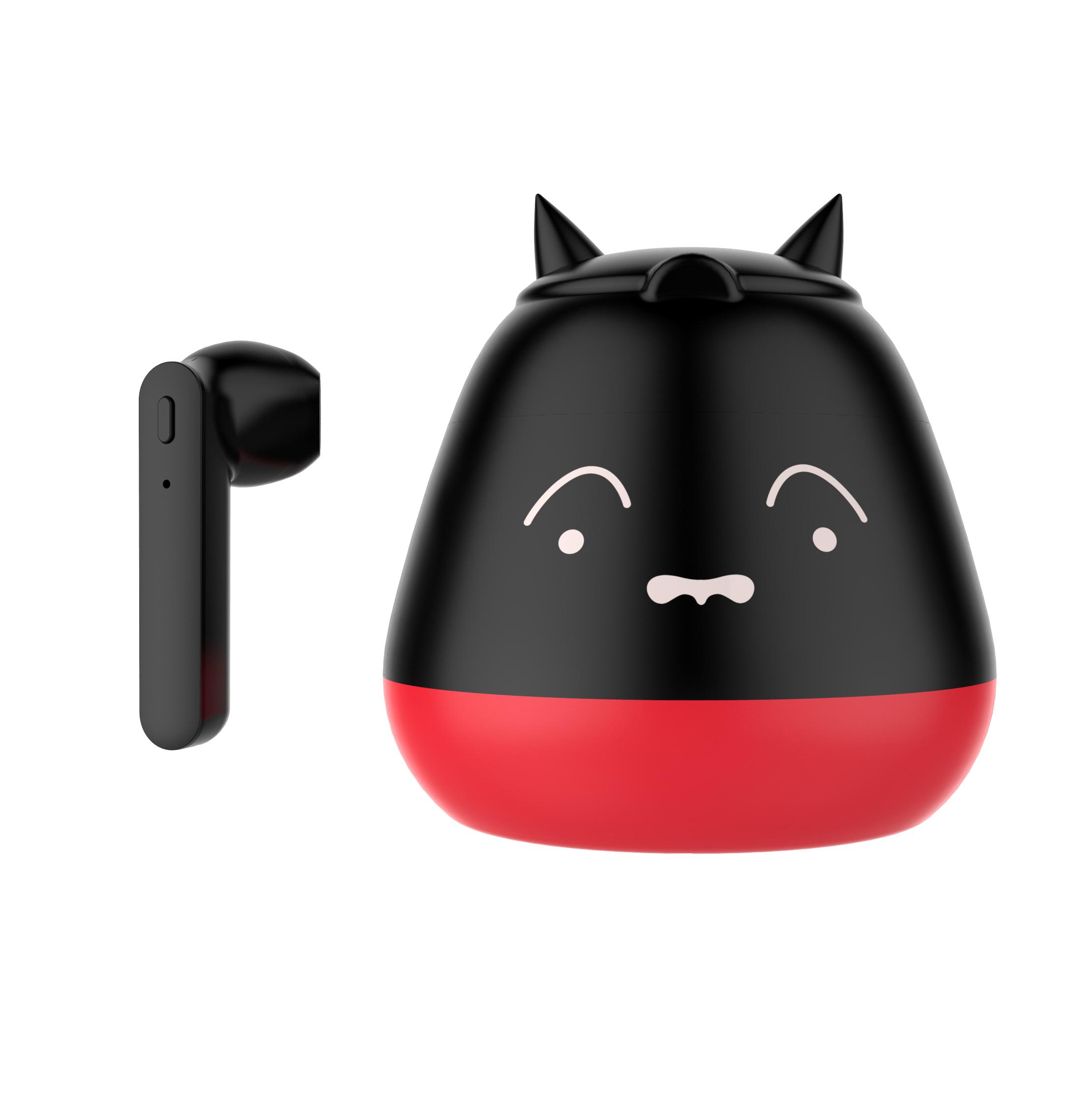 TWS Bluetooth 5.0 Headset Cute Cartoon Real Wireless Sports Headset  Elf