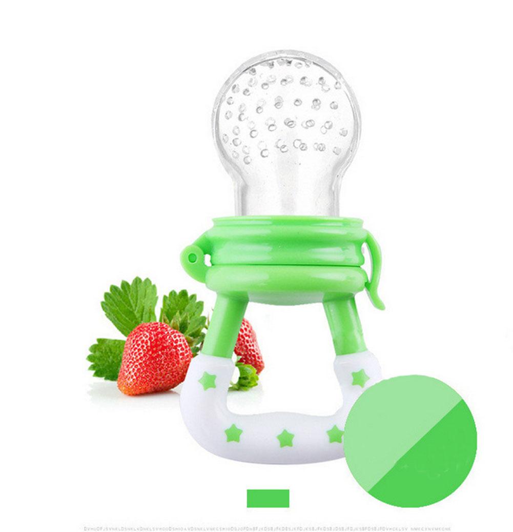 [EU Direct] Cute Silicone Baby Fresh Fruits Food Feeder Pacifier Tool