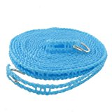 [EU Direct] Nylon Clothes Rope Line Clothesline 5M 16.4ft Blue