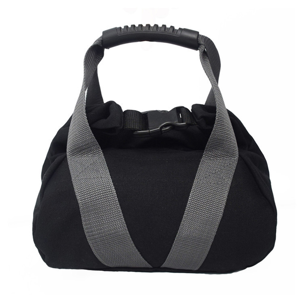 Weightlifting Training Sandbag Fitness Workout High Intensity Exercises Power Bag black_7 * 7 * 7 inches