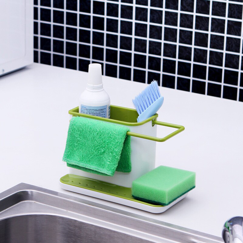 [EU Direct] Creative Storage Holders & Racks Fashion Multifunctional Kitchen Bathroom Draining Racks