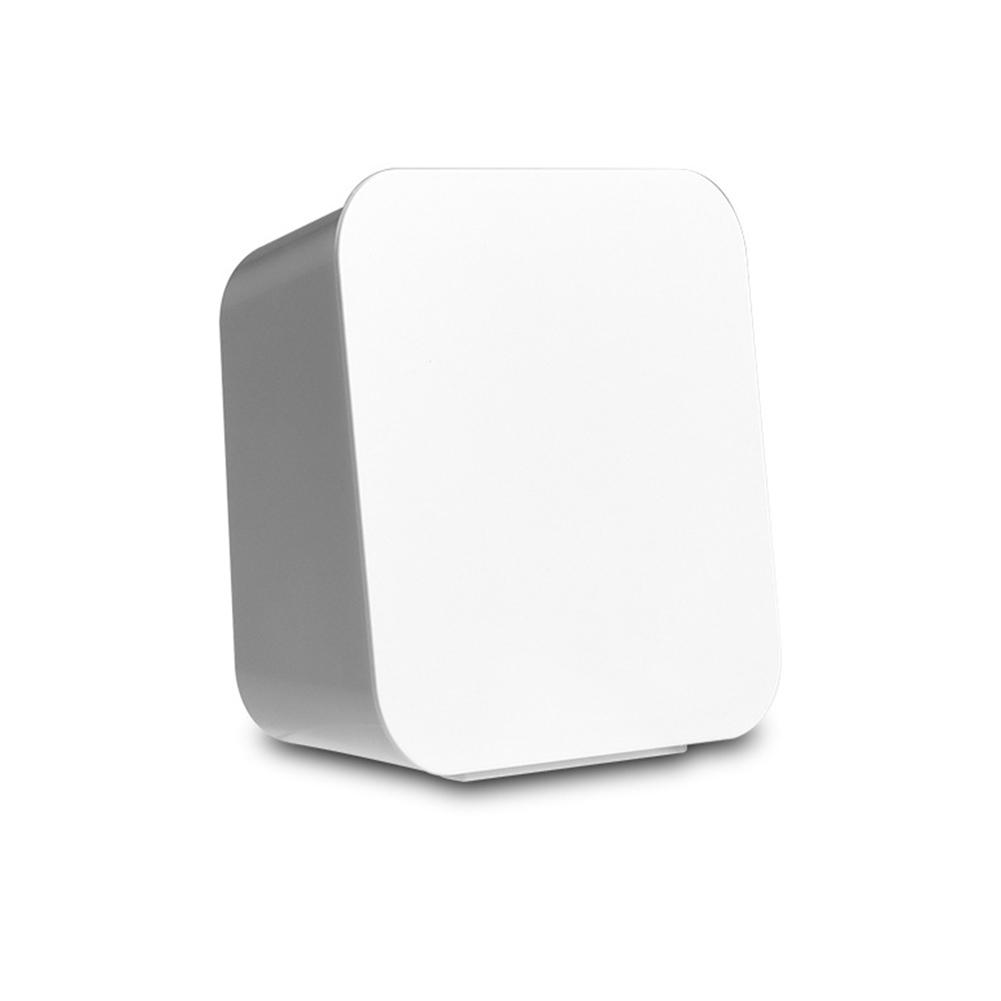 Cotton Swab Storage Box Wall-mounted Flip Dust-proof Detachable Washable Storage Box white