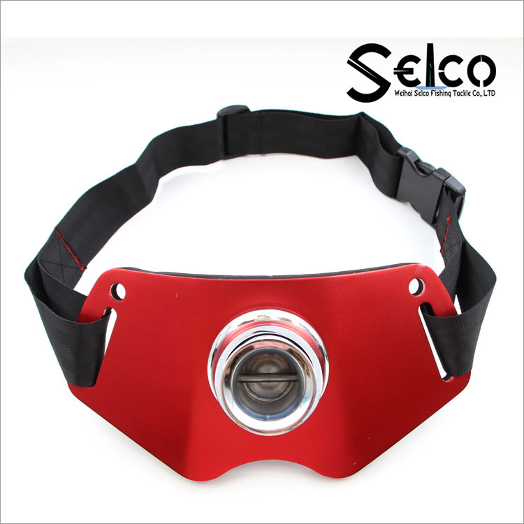 Fishing Rods Waist Belt Holder Fishing Rod Support For Ocean Fishing Waist Belt Tools Accessories Stand Up Belt red_28.5 * 14cm