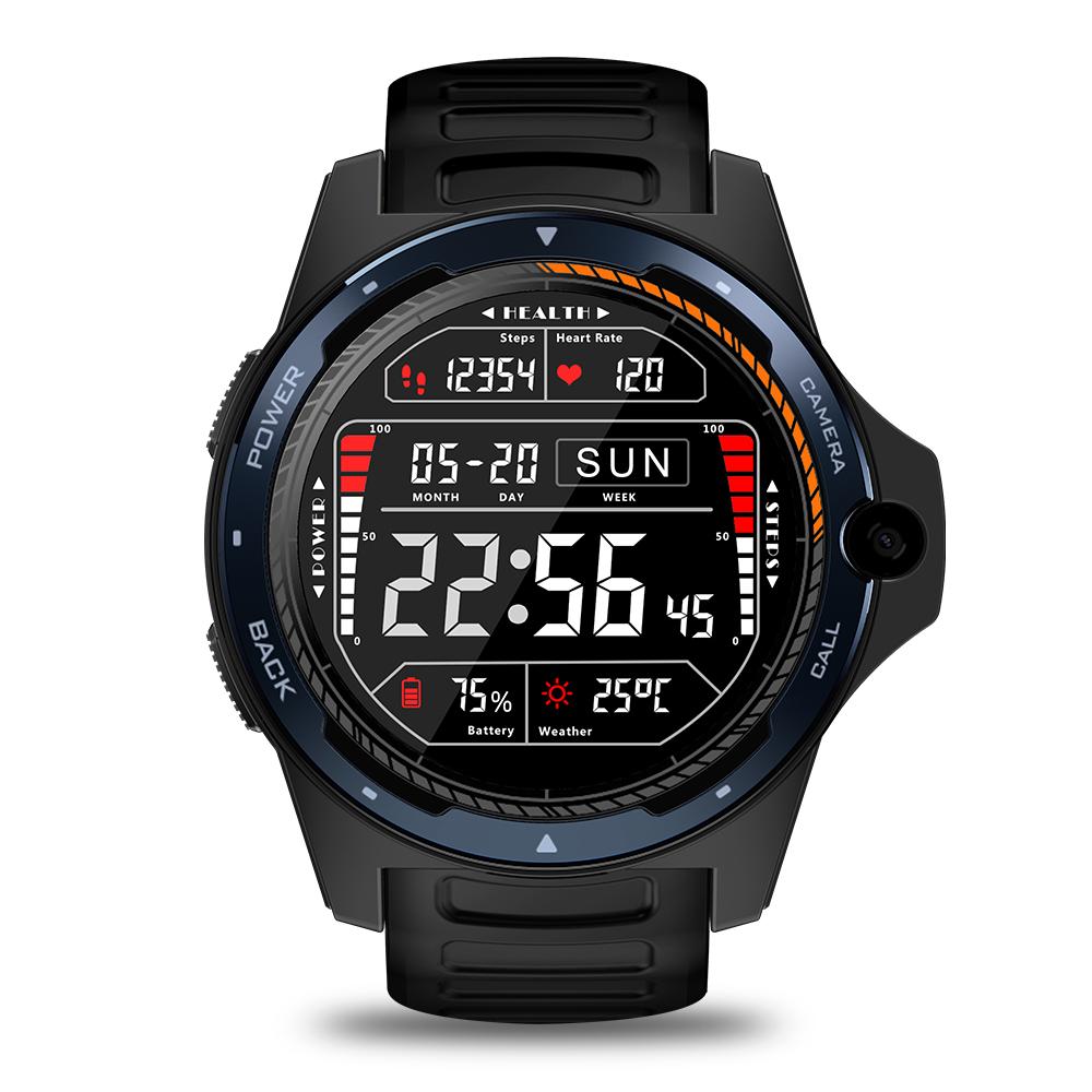 Original ZEBLAZE Smart  Watch  Bracelet Dual-system Dual-chip 8 Million Pixels 2+16g Ram Men And Women Watches blue
