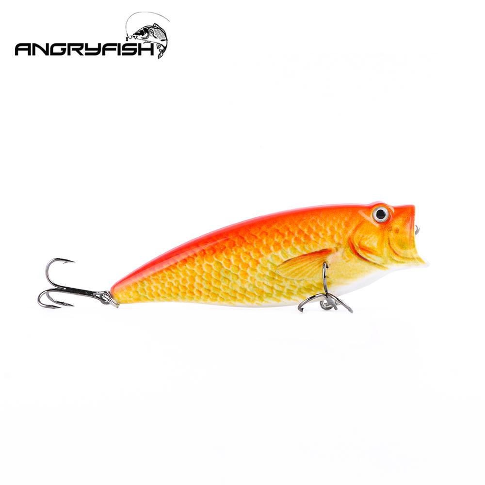 95mm/18g Bionic Lure Fake Bait Lure Bait for Fishing Orange