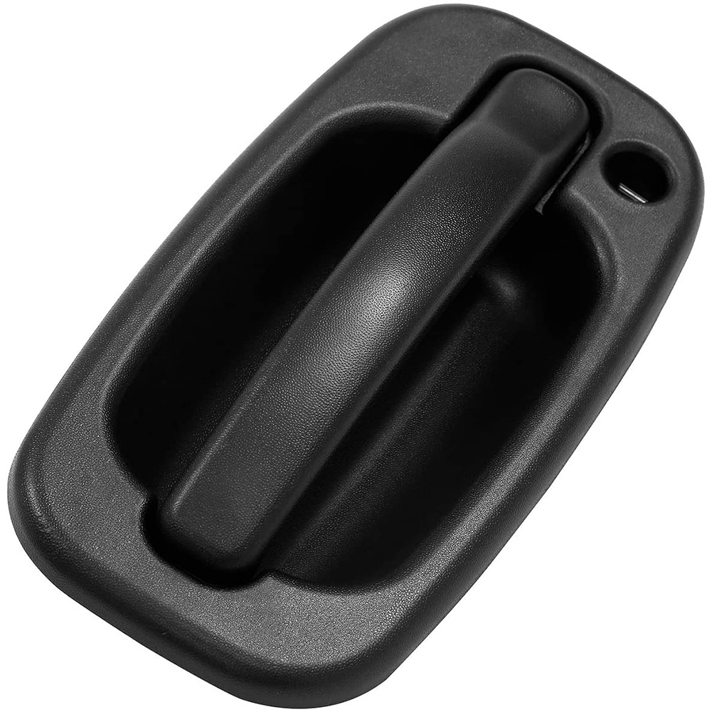 Exterior Door Handle Front Left Right with Key Hole for 99-06 Chevy Silverado GMC OE:15034985, 15034986  left