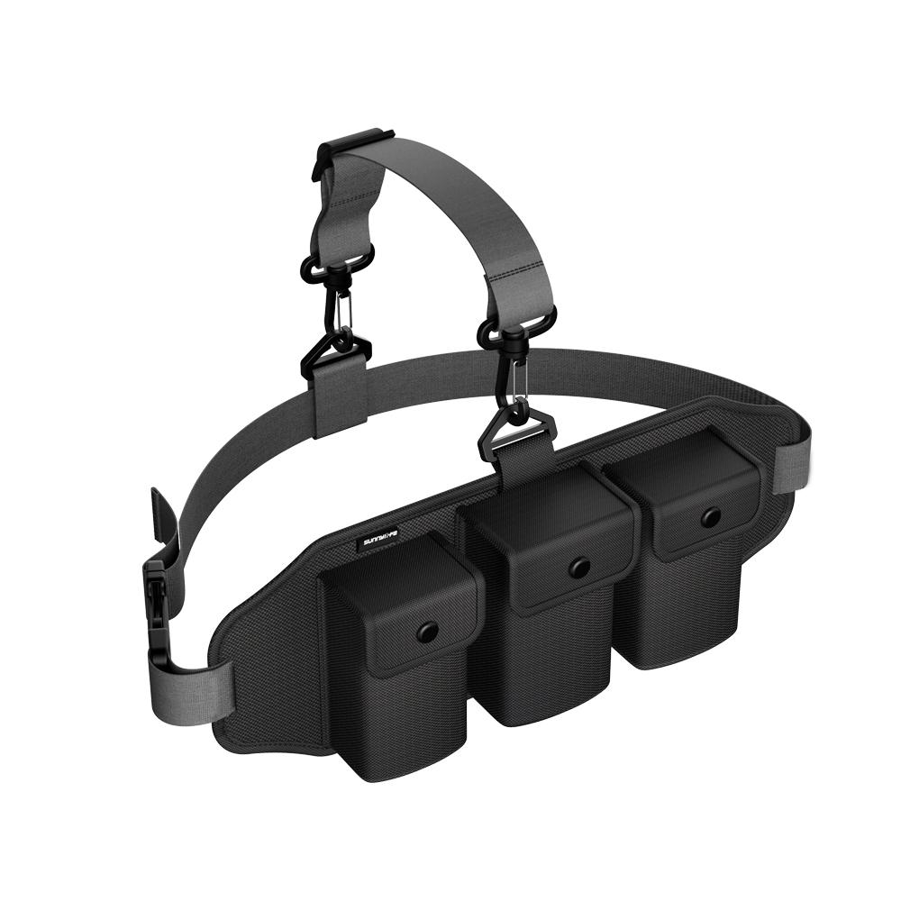 Portable Waist Pack Multi-function Suit Storage Bag Outdoor Protective Pack Storage Bag for Mavic Mini black