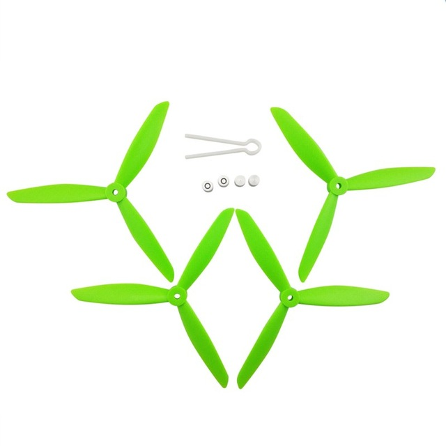 MJX Bugs 3 PRO B3 PRO HS700 Brushless Quadcopter Upgrade Accessories Drone 3-bladed Propeller green