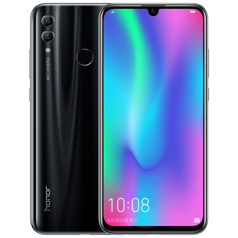 Honor 10 Lite 4G Mobile Phone black_4+64G