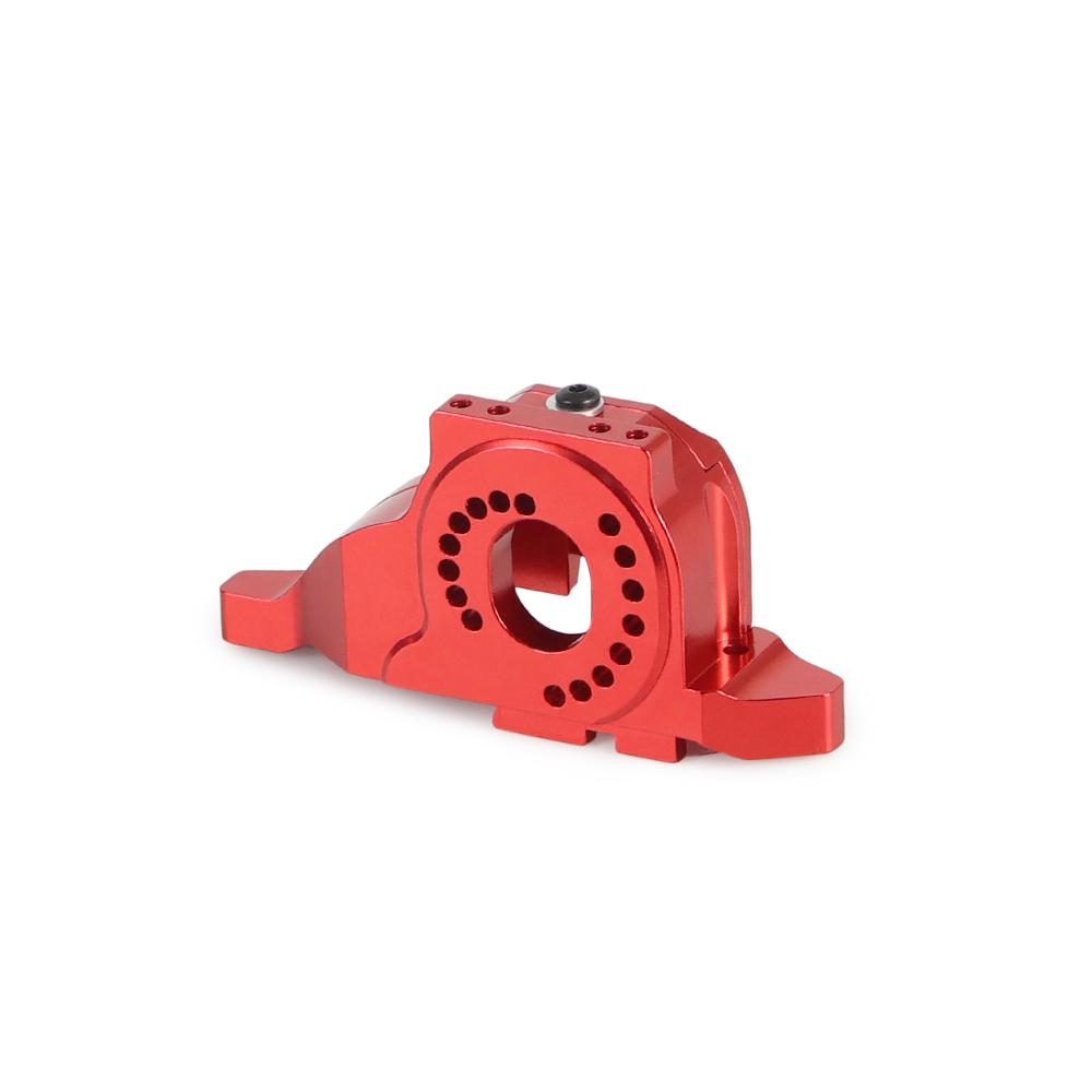 Aluminum Alloy Motor Mount Heat Sink for 1/10 RC Crawler Traxxas TRX-4 Defender TRX4 Bronco red