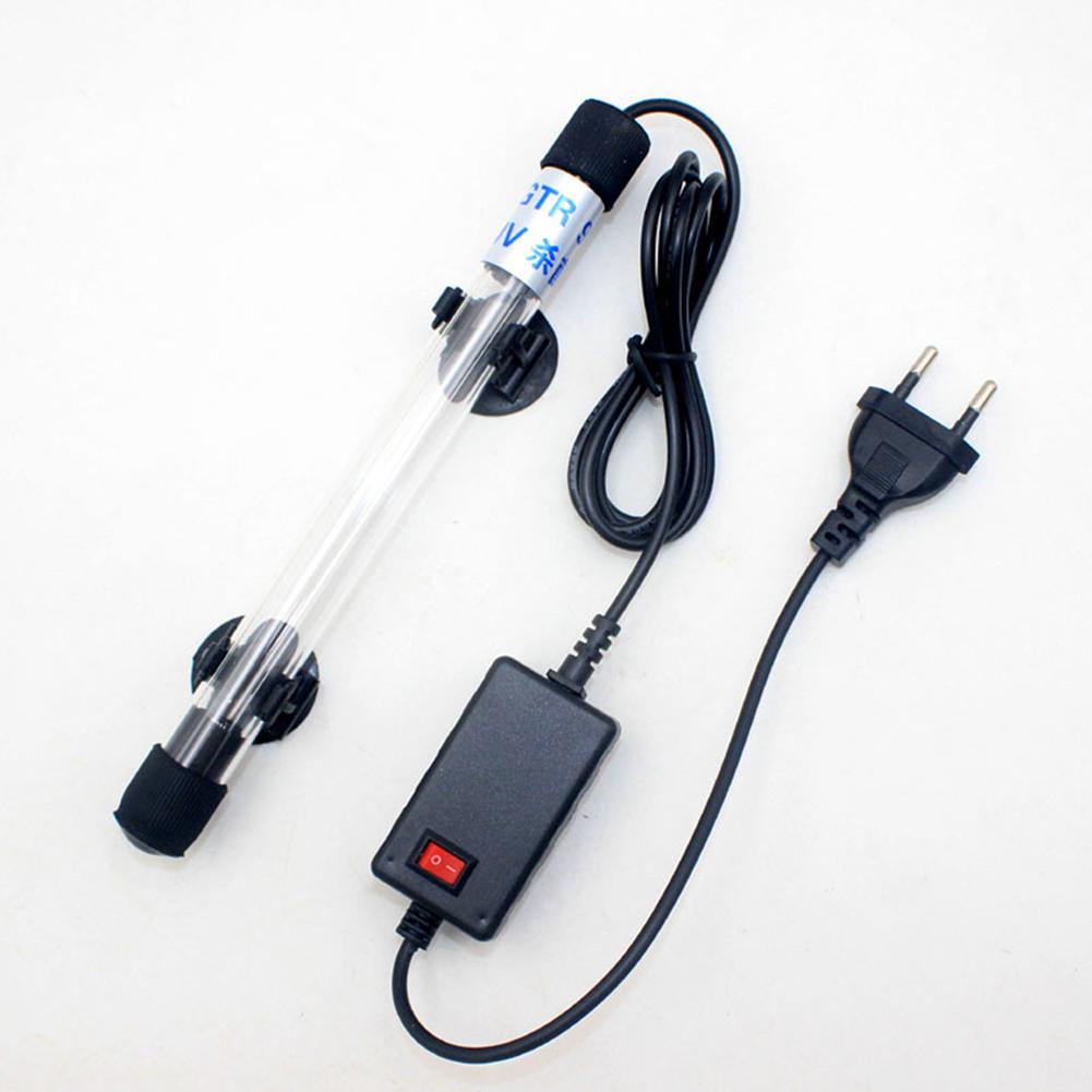 Aquarium UV Sterilizer Lamp Submersible Algae Removal Aquarium Pond Fish Tank Light