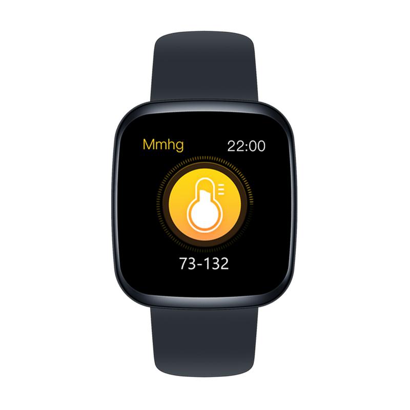 Zeblaze Crystal 3 Smartwatch WR IP67 IPS Color Display Heart Rate Blood Pressure Long Battery Life Smart Watch black