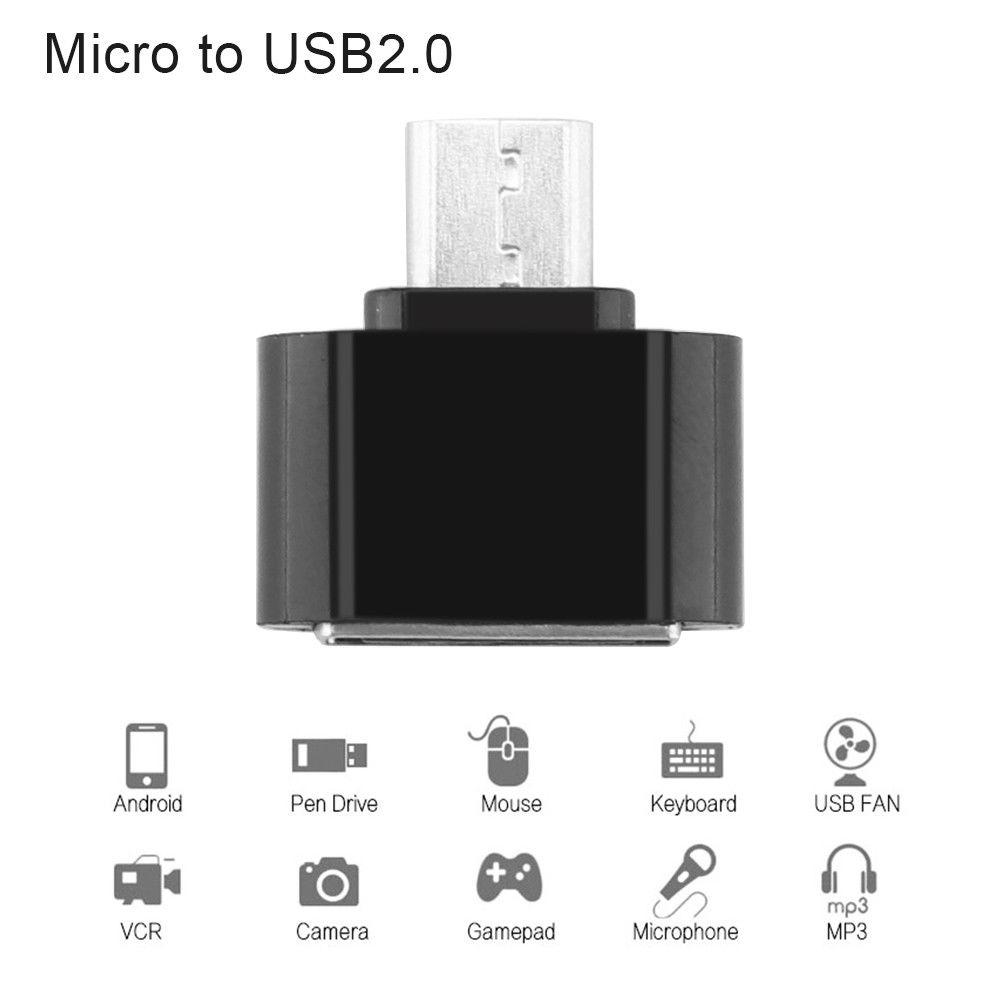 OTG Adapter USB OTG Converter Head SD Card Reader Connection Kit