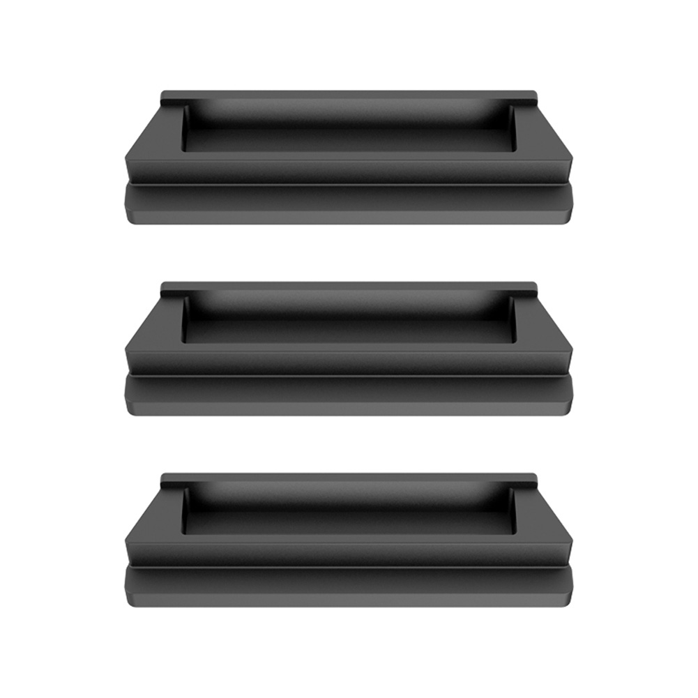 3PCS Drone Battery Charging Port Dust Cover for DJI Mavic Air 2 Drone Accessories Dampproof Hood Short-circuit Protector black