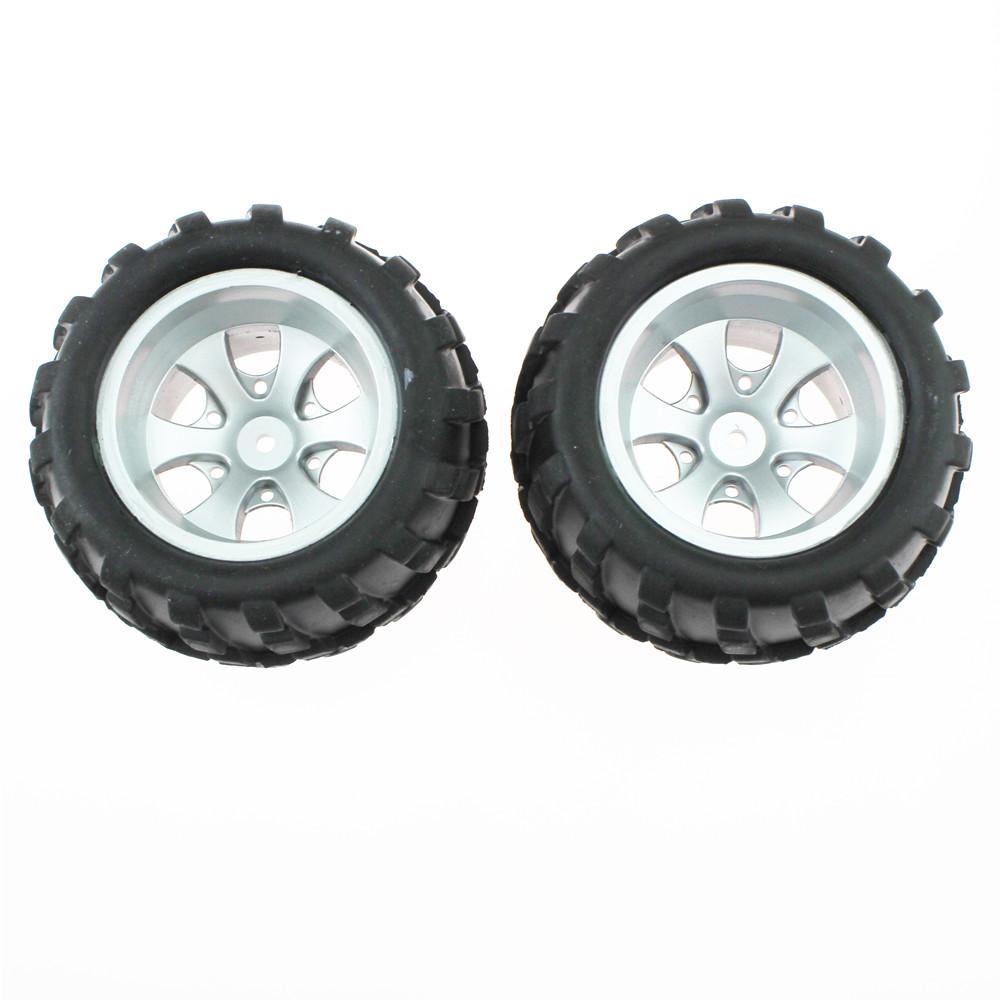 2pcs/set 1:18 Wltoys A979 1/18 RC Car Spare Parts Left Right Tire A979-01 Rc Car Parts 1 Pair of left tires
