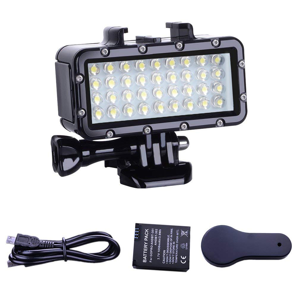 Diving Light High Power Dimmable 36 LEDs