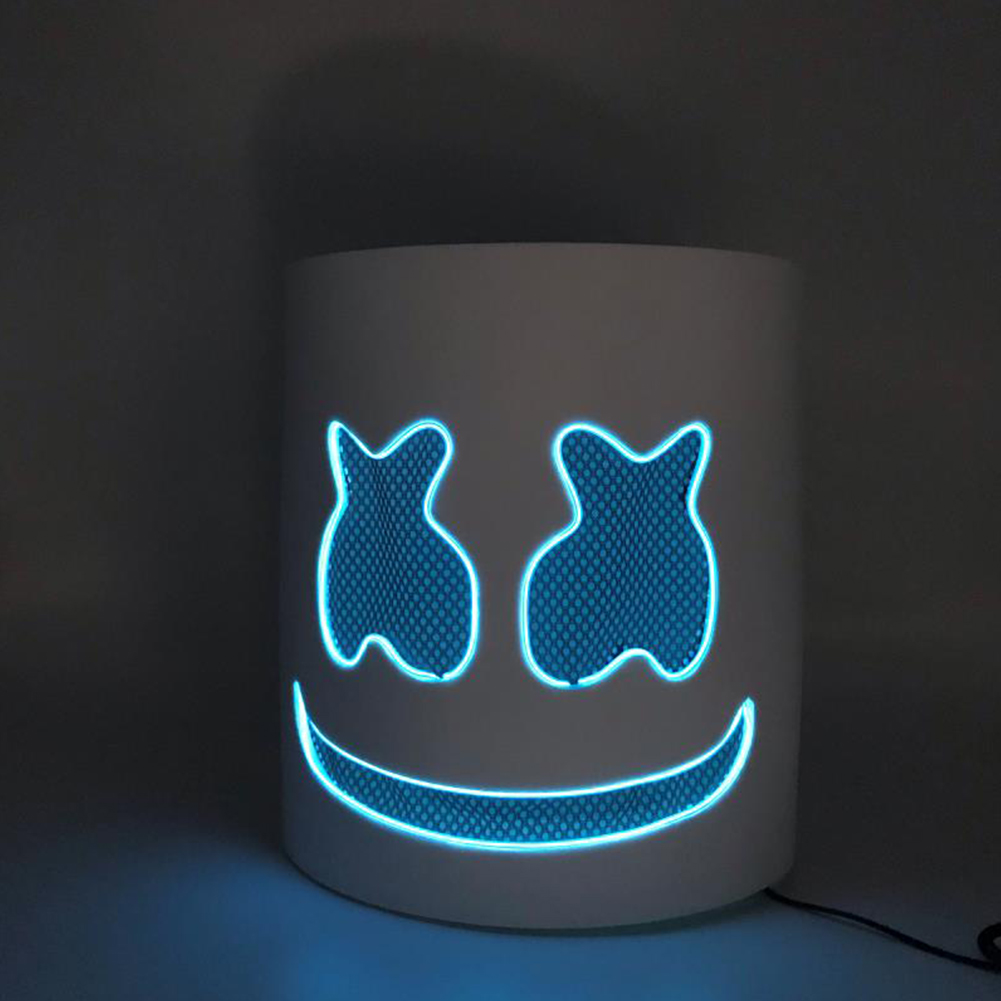 Unique Luminous Mask for Bar Party Wear Blue light