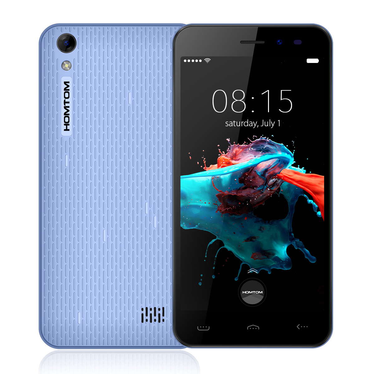 HOMTOM HT16 MTK6580 Android 6.0 Phone Blue